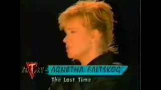 Agnetha Fältskog ♥ The Last Time (1988, sound remastered, HD)