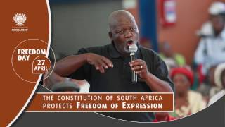 The Constitution of South Africa protects: