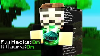 WHAT IS THIS HACK????? ( Hypixel Skywars FUNNY MOMENTS )