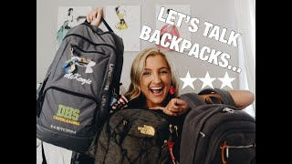 FIND THE BEST BACKPACK FOR YOU (NORTH FACE, TRAVEL ON, UNDER ARMOR)