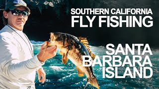 Fly Fishing Southern California - Santa Barbara Island CA