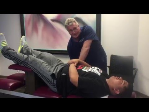 Formgebung Aktivität in Osteochondrose