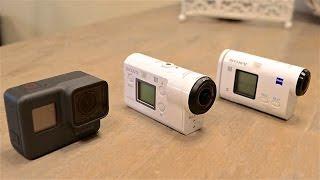 Sony FDR-X3000 vs GoPro Hero 5 Black vs Sony AS200vr - porównanie