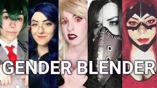 My Hero Academia ||Gender Blender[TIK TOK]
