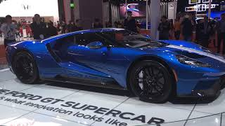 2018 Ford GT supercar is Ford