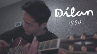 OST. Dilan 1990 - Rindu Sendiri Live (Cover by Falah)