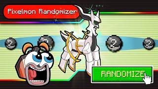 1v3 Pixelmon RANDOMIZER Challenge! (Minecraft Pokemon)