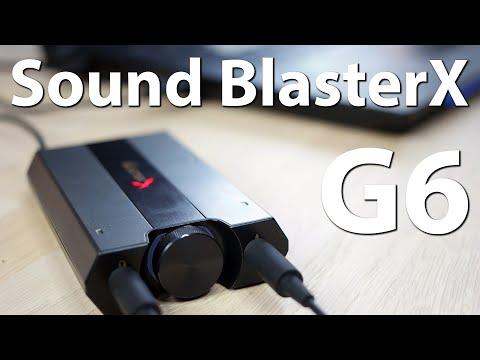 Creative Sound BlasterX G6 im Test - Die USB-Soundkarte für Gamer und Audiophile