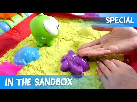Om Nom - In the Sandbox  (Cut the Rope)