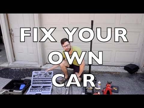 DO YOUR OWN CAR MAINTENANCE:  A HOW TO