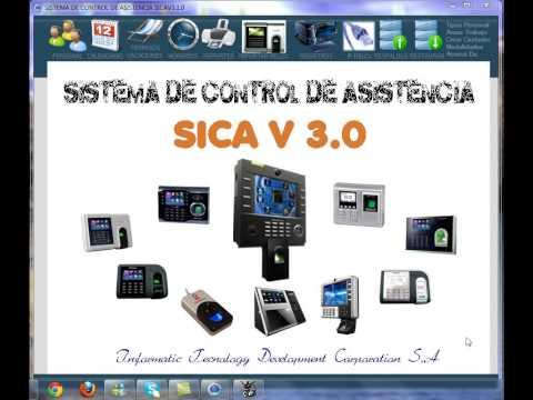 SICA 3.0 Para el control de asistencia ( VERSION ANTIGUA)