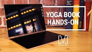 Lenovo Yoga Book Hands-On Review