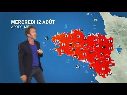 Illustration de l'actualité Bulletin météo pour le mercredi 12 août 2020