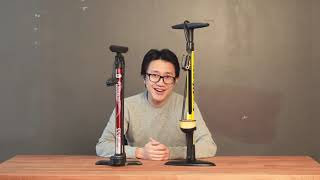 Topeak JoeBlow Sports III vs Bell Floornado 550   Why You Shouldn't Cheap Out On A Good Bicycle Pump