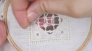 Embroidery / Stitch / Ricamo / Hardanger / Saramoon1211