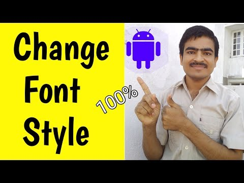 How to Change Font Style In Any Android Device ? Font Style Change Kaise kare ?
