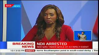NASA chief strategist David Ndii has been arrested while on a family event in Diani Beach