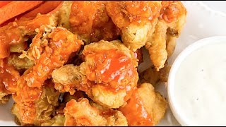 Buffalo Cauliflower Recipe  Part 1. How to make Buffalo Cauliflower