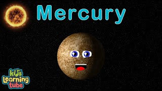 Planet Song for Kids/Solar System Songs for Children/Mercury Song for Children