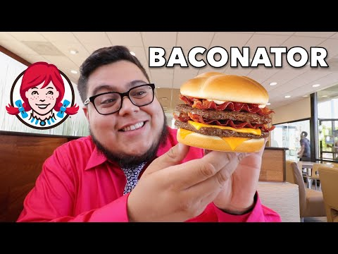 Wendy's Baconator – Fast Food Review – Full Nelson Eats A Lot