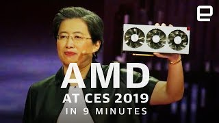 AMD's CES 2019 Press Event in 9 Minutes: Ryzen is here to stay