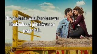 Khwabfaroshi Lyrics | Jabariya Jodi | Sachet Tandon