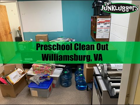 Preschool Clean-out Job