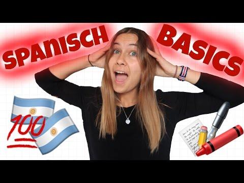 SPANISCH BASICS! & ich spreche Spanisch 😏🎉 | Raja Patricia