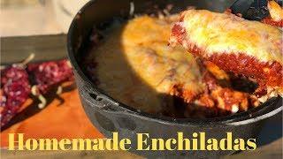 Homemade Cowboy Enchiladas