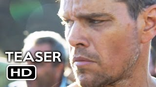 Jason Bourne Official Teaser Trailer (2016) Matt Damon Action Movie HD