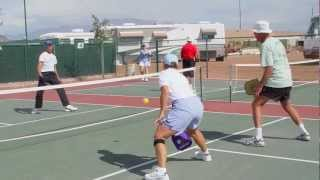 Staying Active Playing Pickleball - Be There Do That