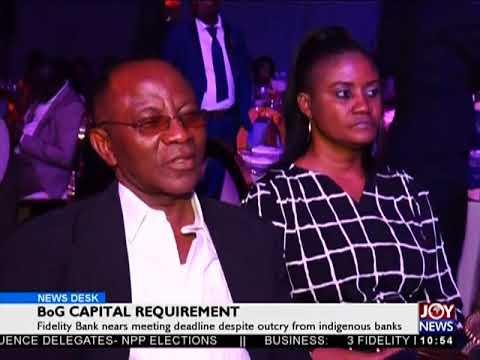 BoG Capital Requirement - Business Desk on JoyNews (23-4-18)