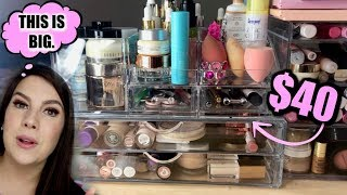 Trying SEPHORAS $40 Makeup Storage