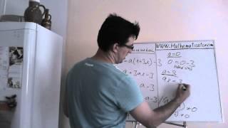 Lineární rovnice s parametrem - příklad 3