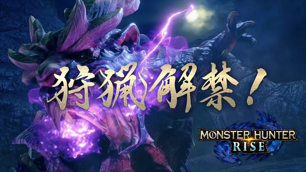 Nintendo Switch『モンスターハンターライズ』狩猟解禁映像