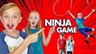 Secrets Revealed? Ninja Obstacle Game with American Ninja Warriors!