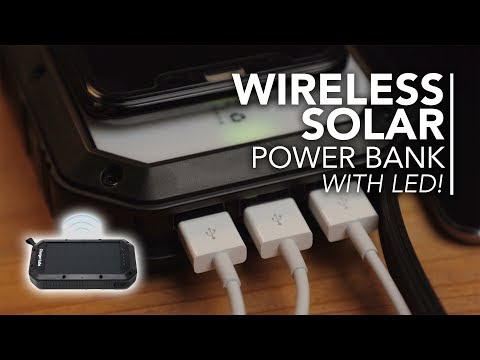 Endless Power! Halo Wireless Solar Power Bank Review