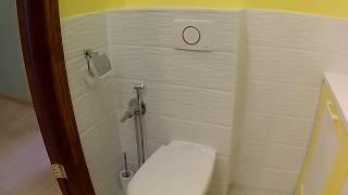 Ремонт в ванной комнате.