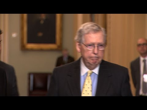 Majority Leader Mitch McConnell says he's told President Donald Trump that the Senate will not be taking up a rewrite of the nation's health care laws now that Democrats control the House. (April 2)