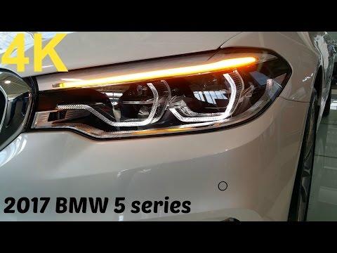 2017 BMW 5er G30 - Adaptive LED-Scheinwerfer [4K]