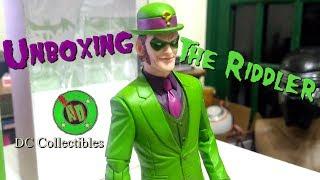 Unboxing The Riddler Dc Collectibles Designer Greg Capullo