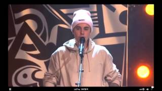 """Justin Bieber performing ''Baby"""" Live at #PurposeInto - 07/12/2015"""
