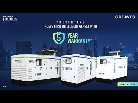 180 KVA Greaves Power Diesel Generator