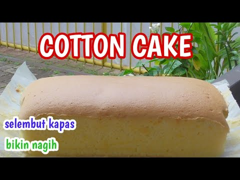 Resep Kue Selembut Kapas / Condensed milk Cotton Cake Bikin Nagih