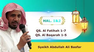 Murottal Al Quran Per Halaman - Hal 1&2 (Syaikh Abdullah Ali Bashar)