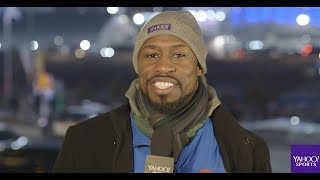 Vernon Davis shares his memories of the Winter Olympics Opening Ceremonies