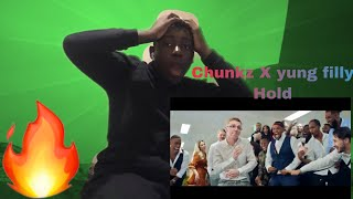 Vibes check ✅ Chunkz X Yung Filly Hold Music video Reaction
