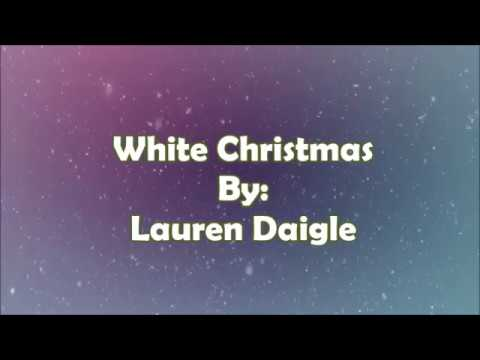 Lauren Daigle White Christmas (Lyric Video)