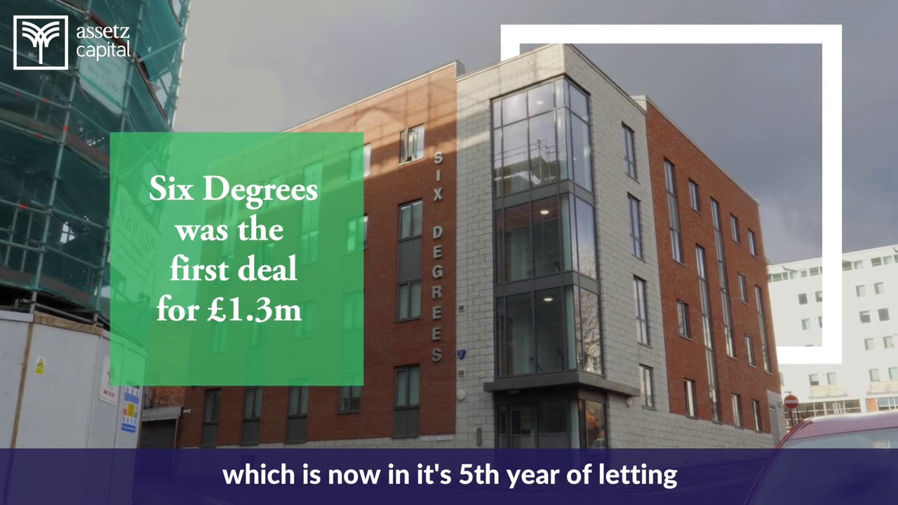 Assetz Capital helps find funding for student accommodation