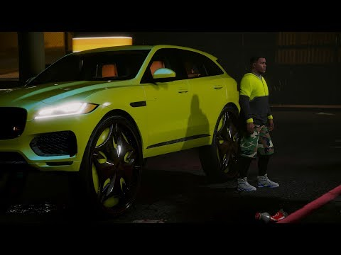 2018 Jaguar F-PACE On 32 Inch DUBs - GTA 5 Mod